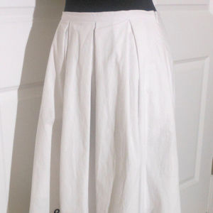Anthropologie * Moulinette Soeurs Skirts - ANTHROPOLOGIE Cotton Poplin Eyelet Skirt 4/6 NWT